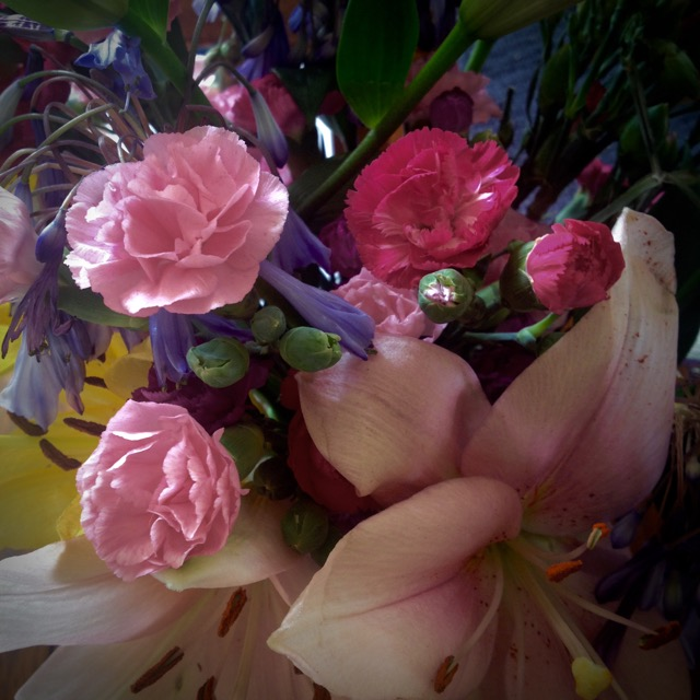 Loveliness from final visits to parishioners. Makes me cry.